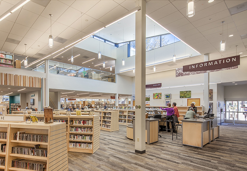 Georgina Cole Library reopens in Carlsbad