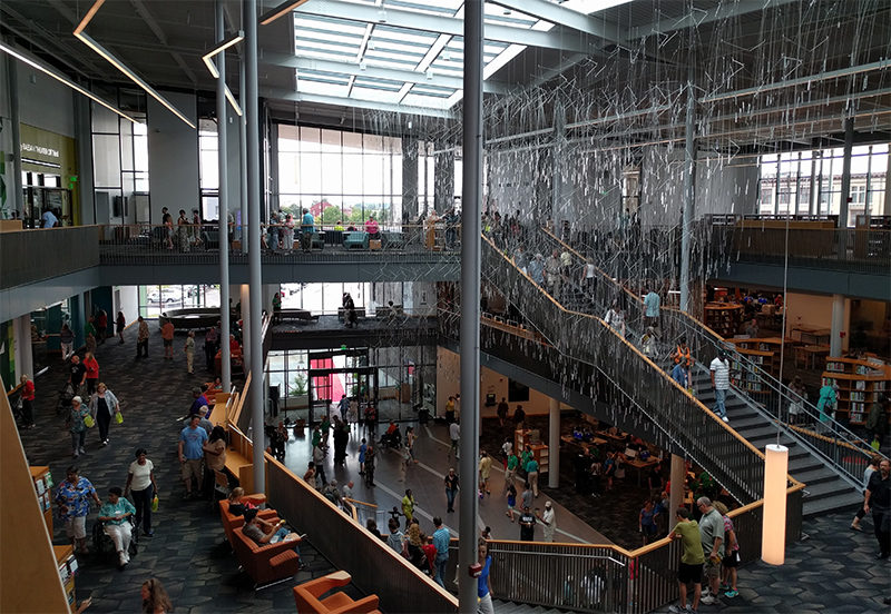 Dayton's Renovated + Expanded Main Library opens!