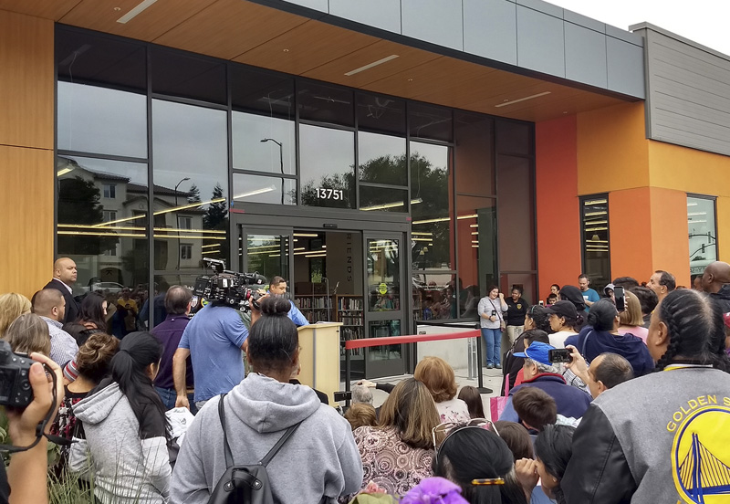 San Pablo Library Settles In