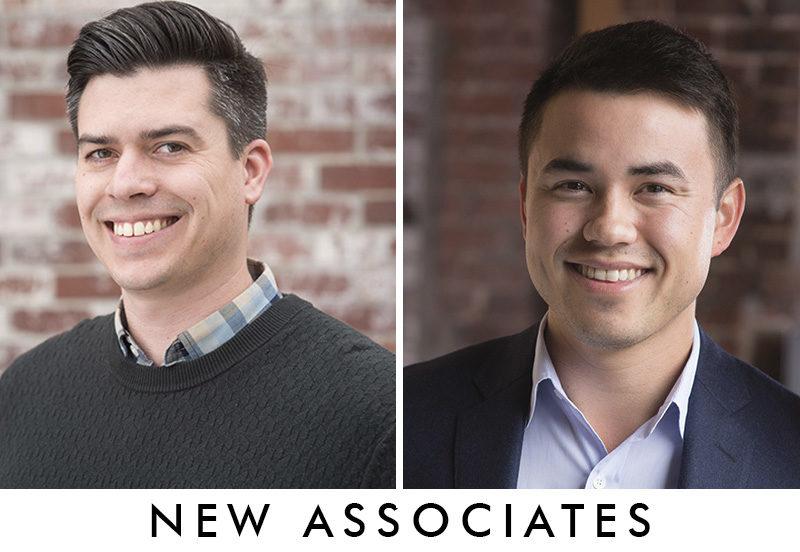 New associates!