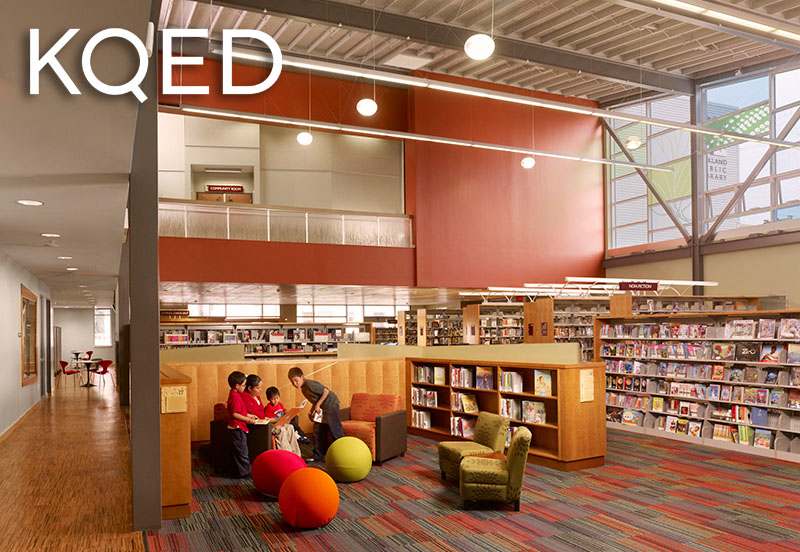 KQED at Oakland's 81st Ave Library