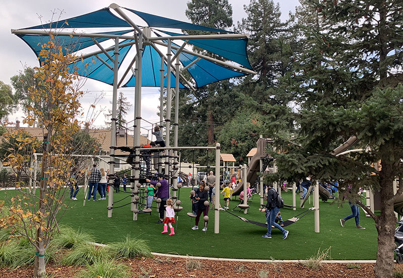 New Burlingame playground a fit